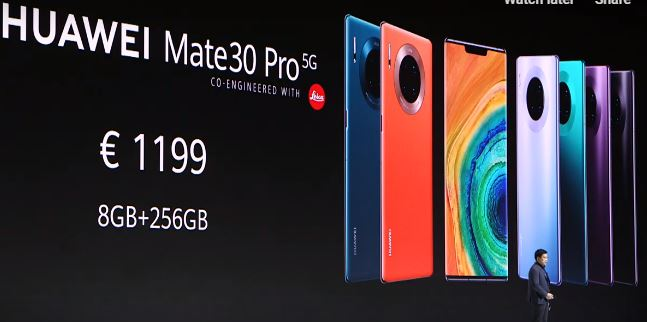 Live   The Huawei Mate 30, the Watch GT 2 and the Huawei Assistant