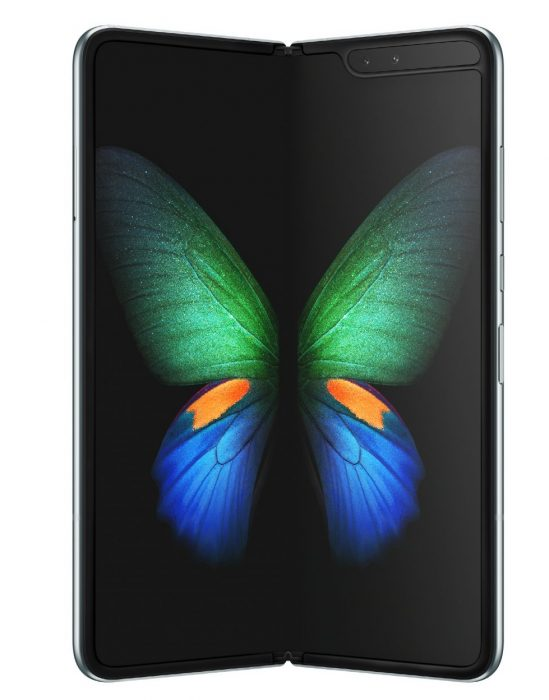Galaxy Fold 5G   Arriving in UK in a couple of weeks... if you have the cash.