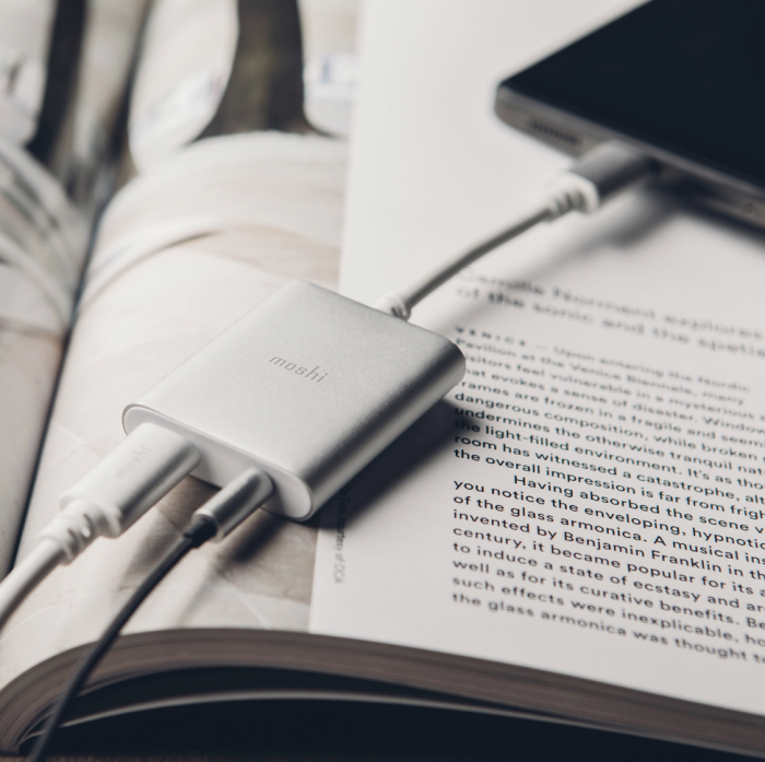 USB Type C audio adapters by Moshi   Now available