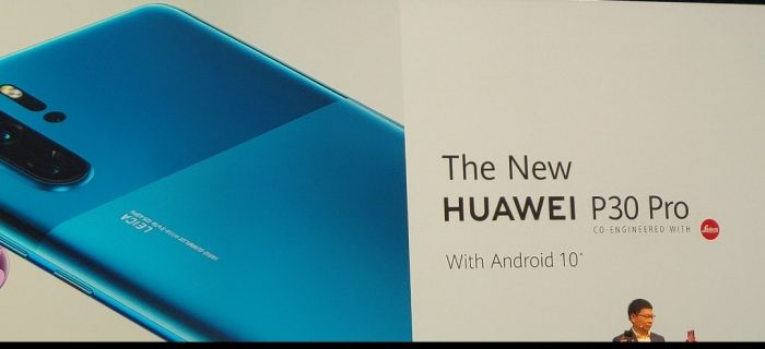 IFA   The Huawei P30 Pro. This is what we now know...
