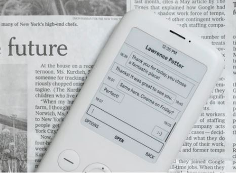 Who fancies a minimalist phone eh?